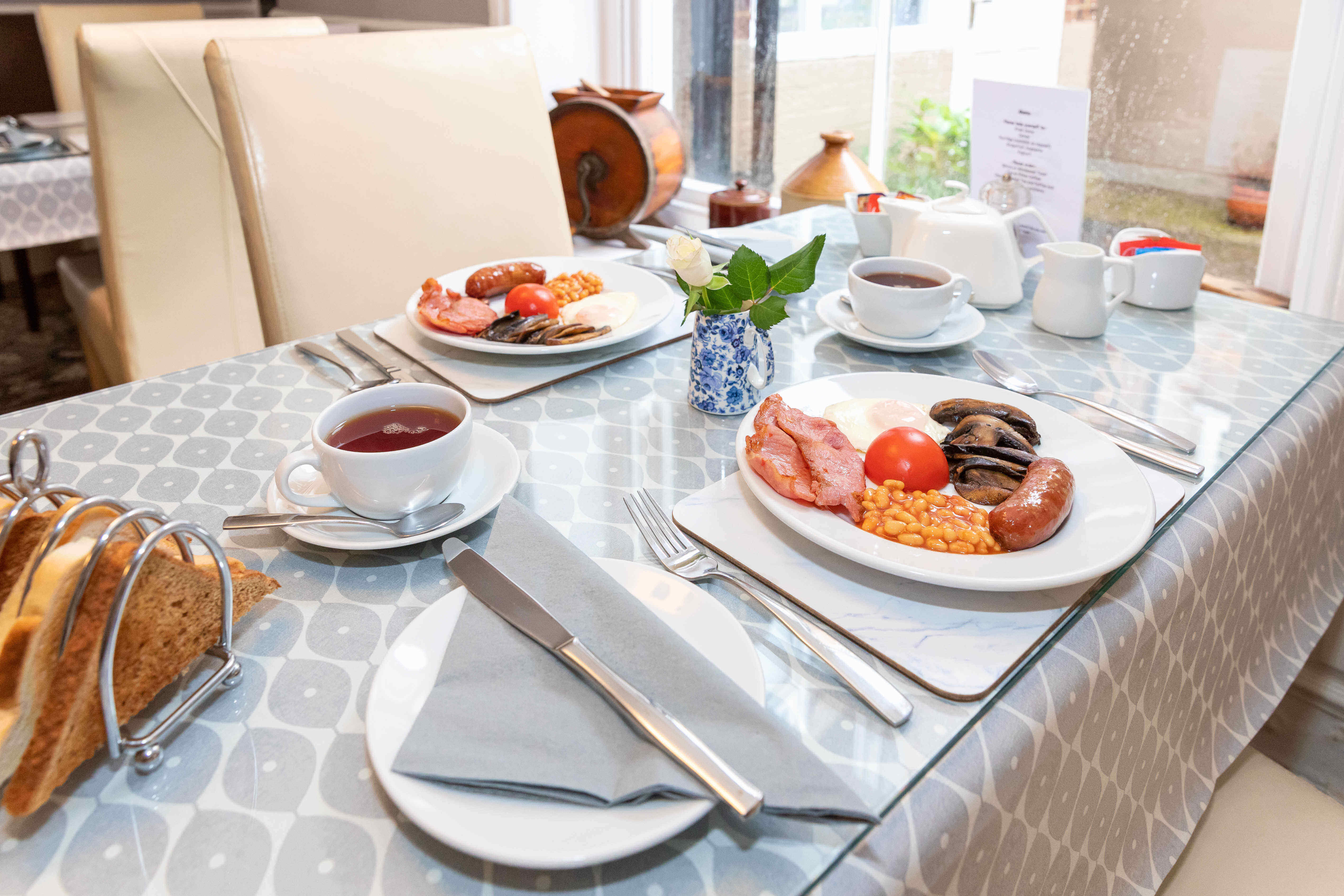 Newport Quay Hotel Breakfast