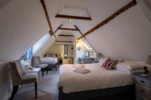 Newport Quay Hotel Room 2, Triple Room Attic